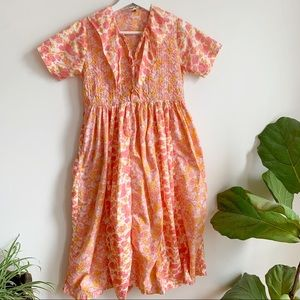 April Cornel Corneloki Floral Dress Girls 9/10